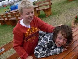 Besuch Jugendfeuerwehr Zeltlager 15.07.2011