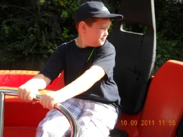 Fahrt in den Heide Park 10.09.2011