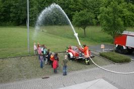 Wir lernen uns und die Feuerwehr kennen 15.05.2009